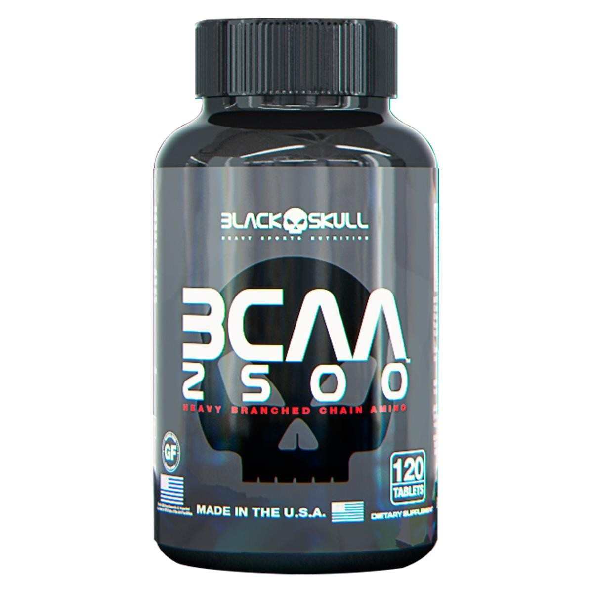 BCAA 2500 120 TABLETS BLACKSKULL