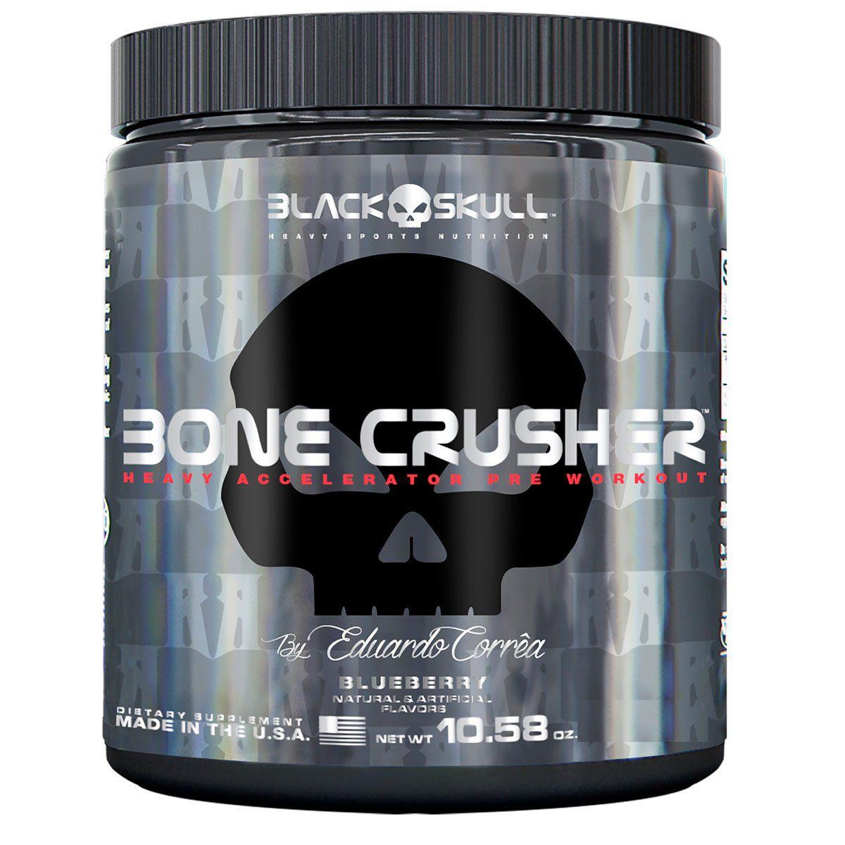 Pre-Treino Bone Crusher 150g - Black Skull