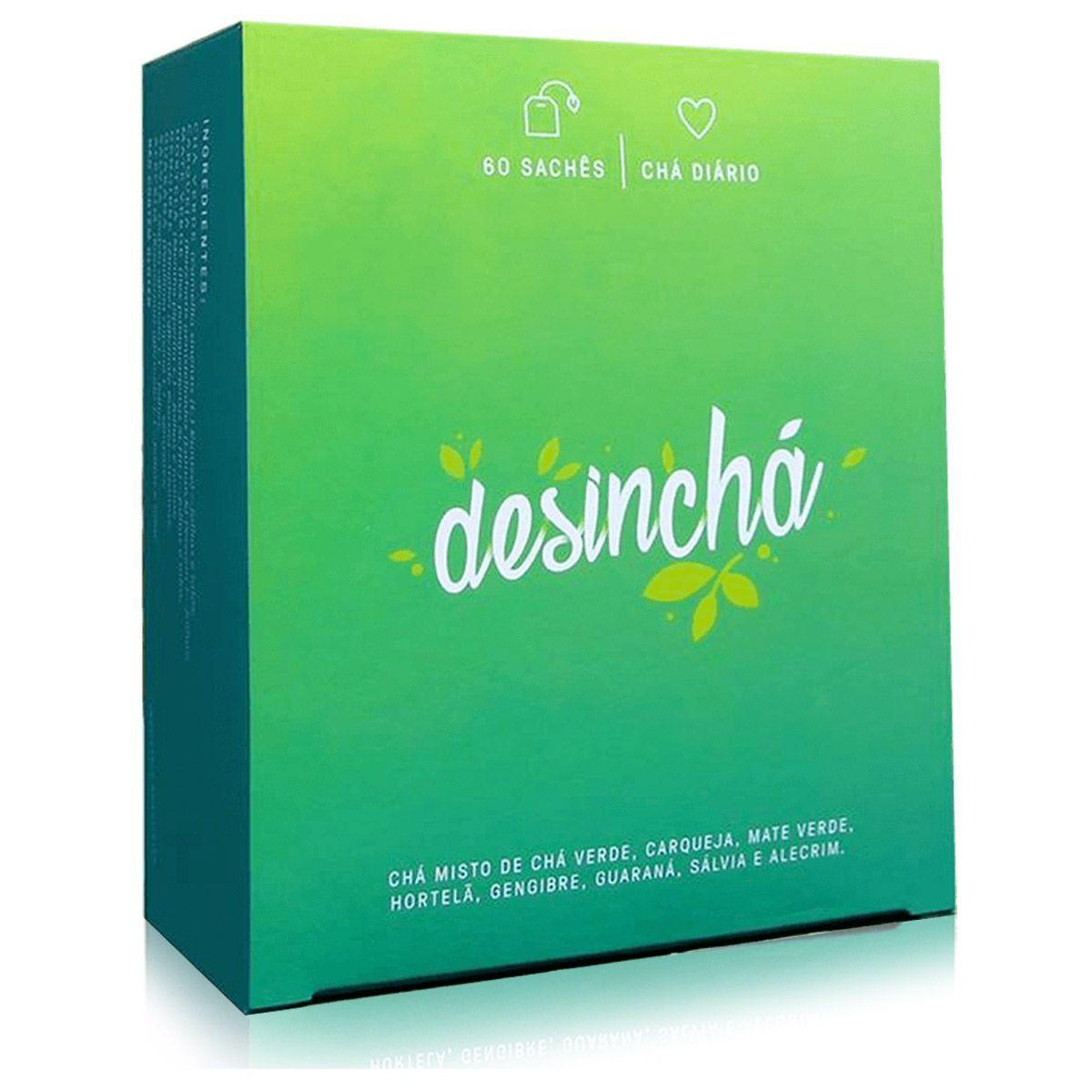 Chá Desinchá Diurético - 60 Sachês