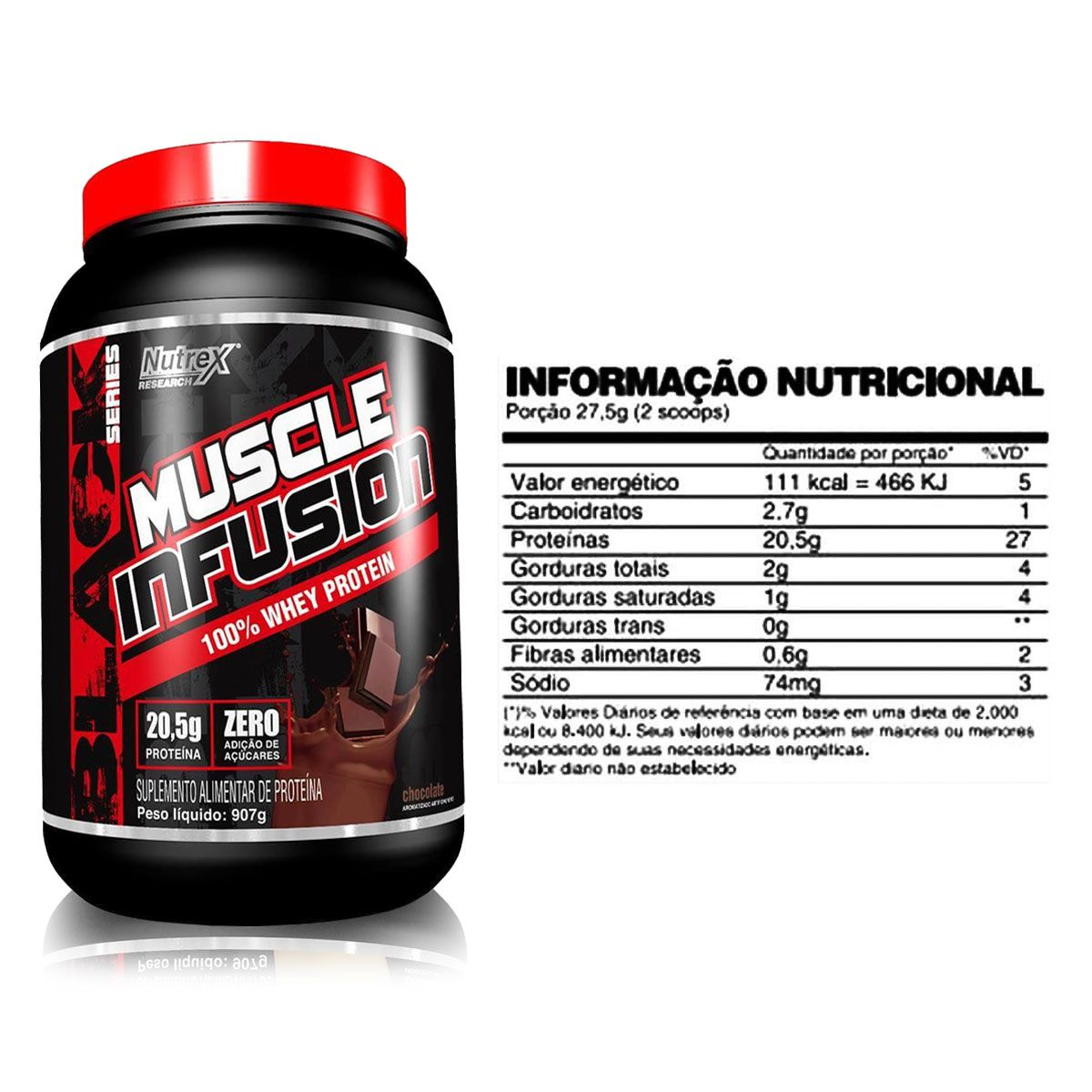 Muscle Infusion 100% Whey Protein 900g - Nutrex
