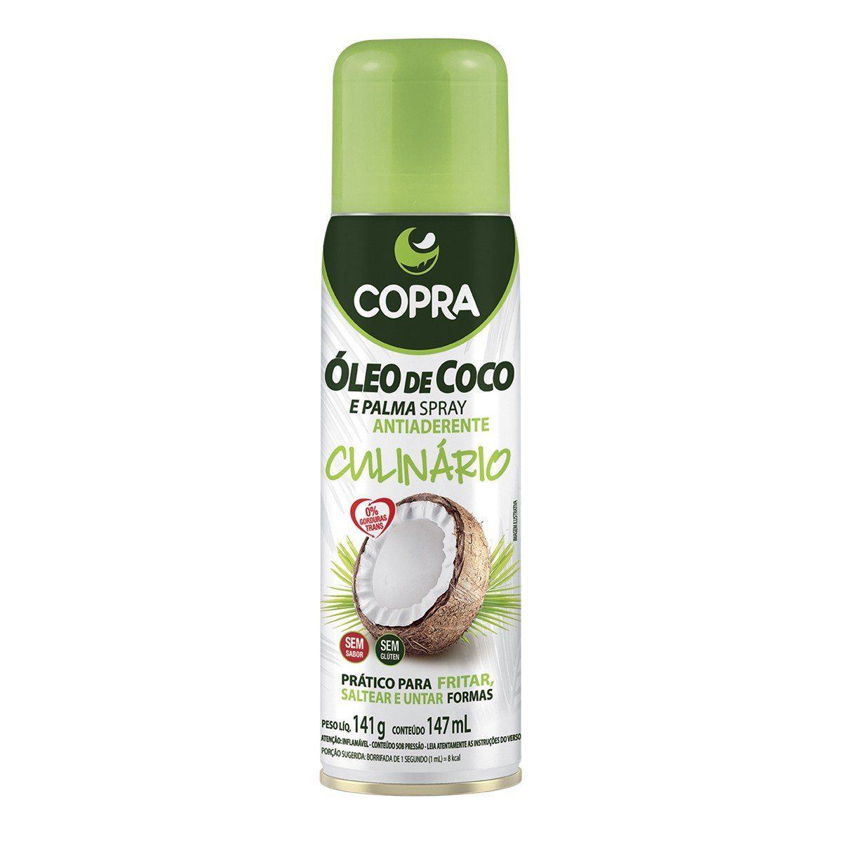 Oleo de Coco e Palma em Spray 200ml - Copra
