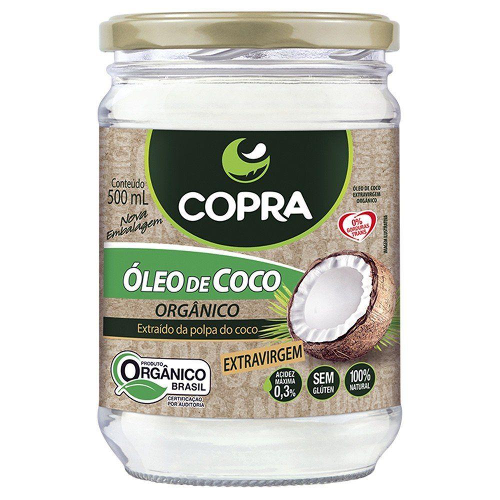 Óleo de Coco Orgânico 500ml - Copra