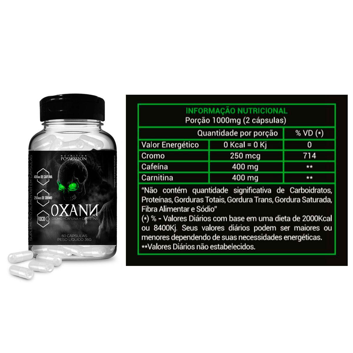 Emagrecedor Oxann 60 Cápsulas - Possession Nutrition