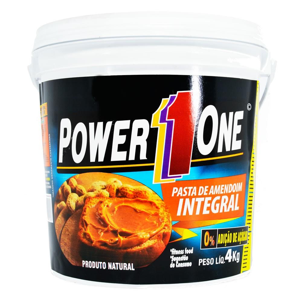 Pasta de Amendoim Lisa Power One 4kg