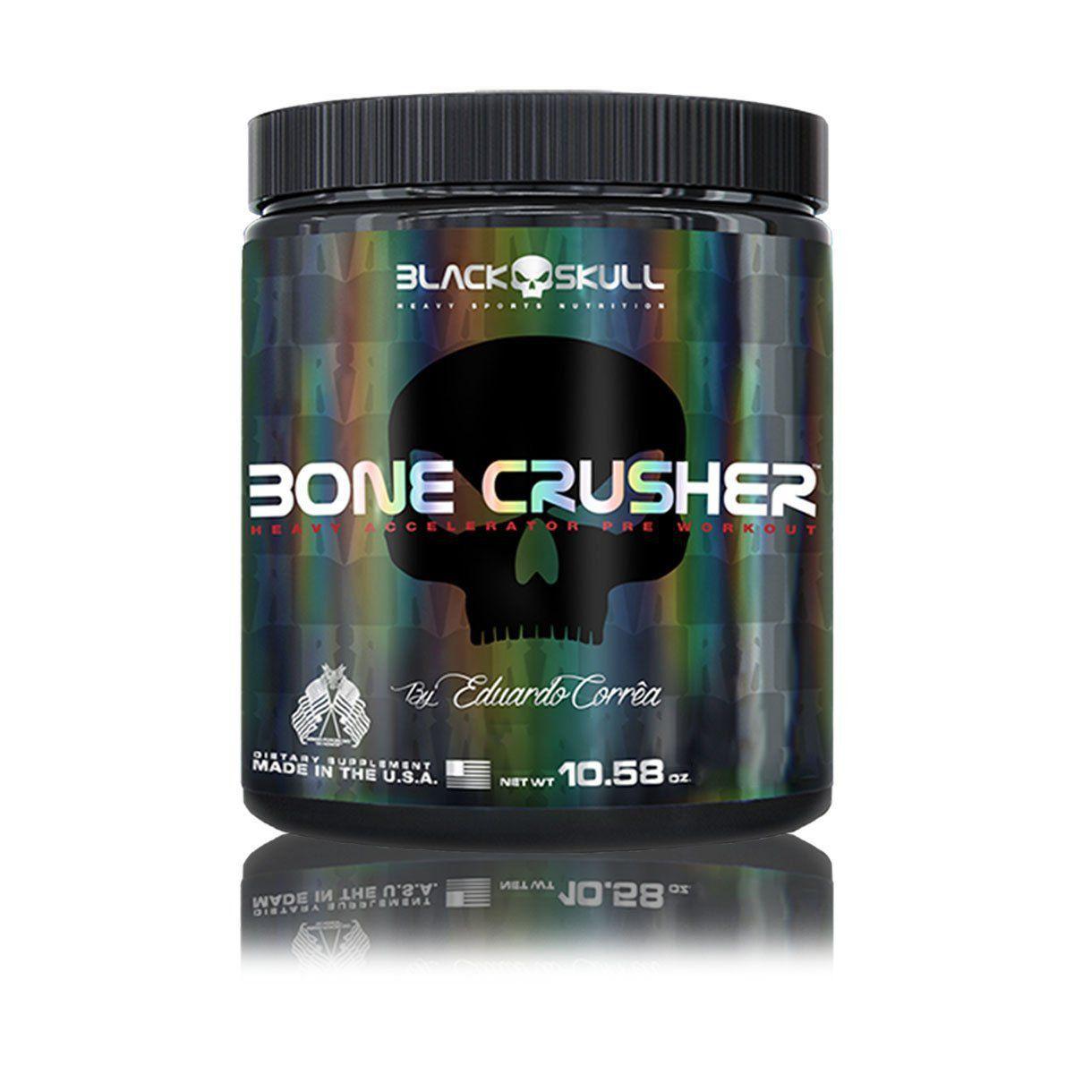Pré-Treino Bone Crusher 300g - Black Skull