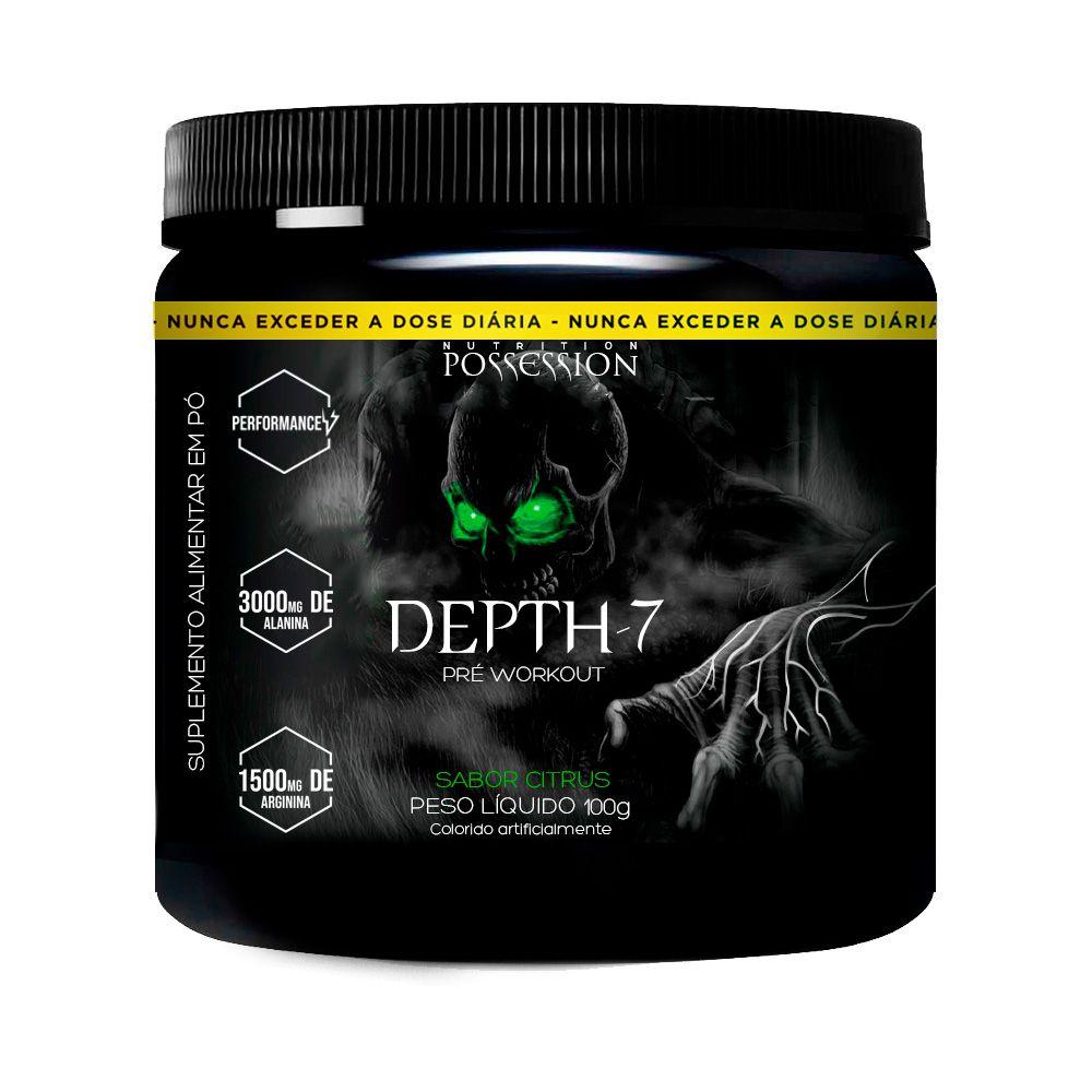 Pré Treino Depth-7 100g Alanina + Arginina - Possession Nutrition