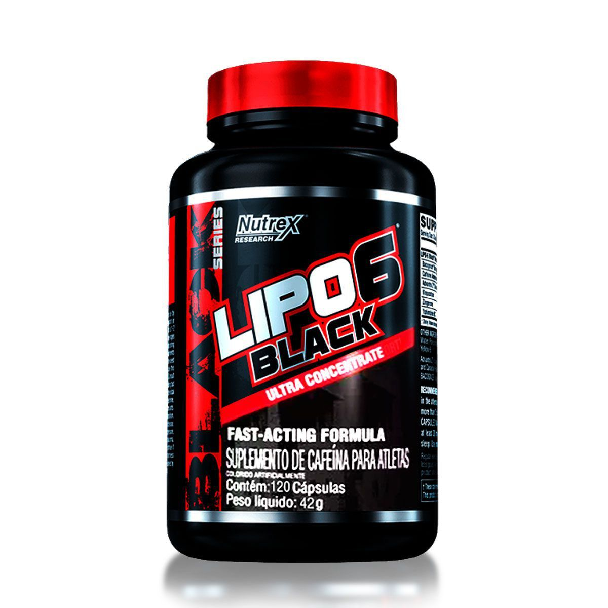 Lipo 6 Black 120 Capsulas - Nutrex