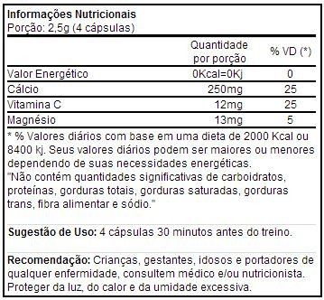 Veinox 120 Cápsulas - Power Supplements