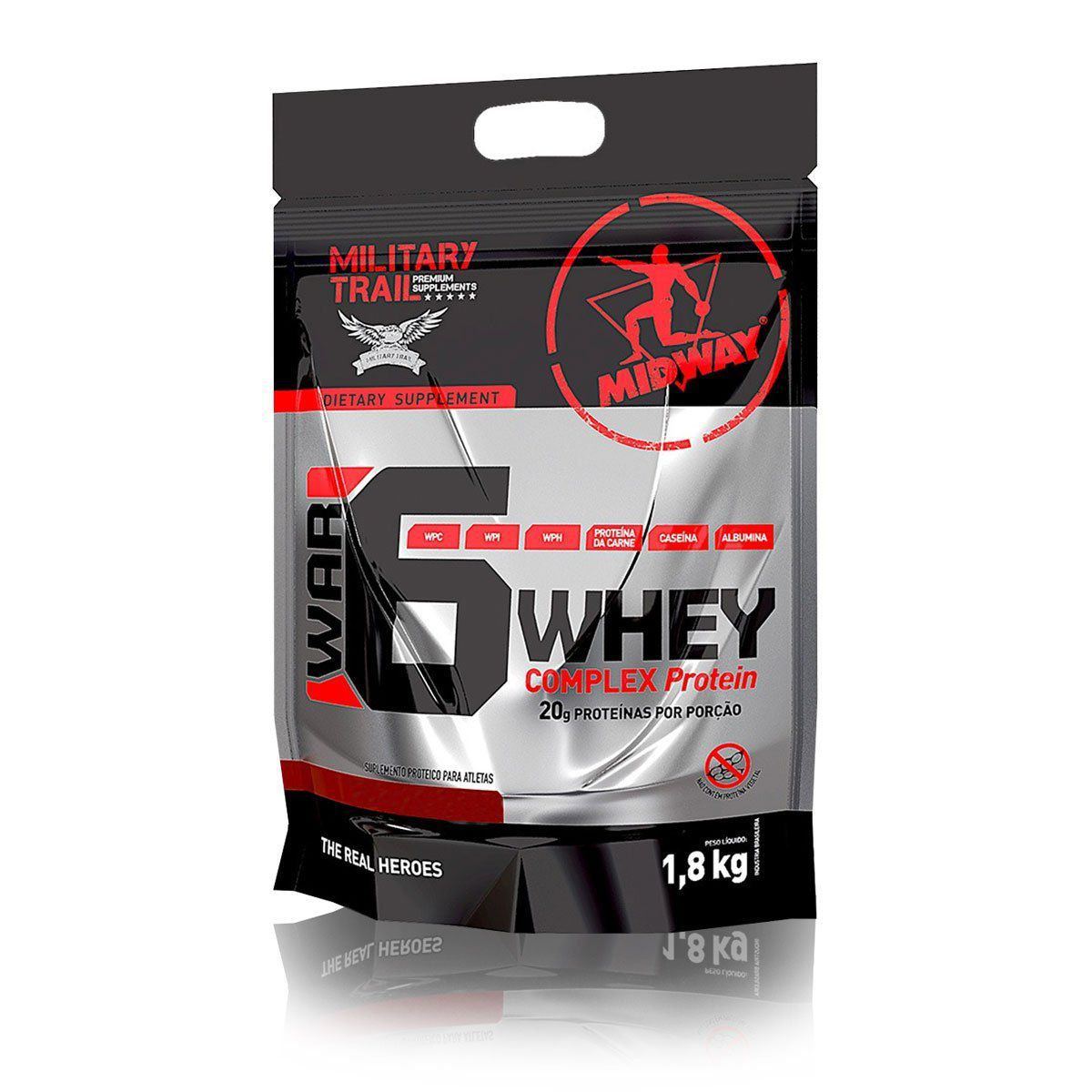 War 6 Protein Complex 1,8 kg Military Trail - Midway Labs