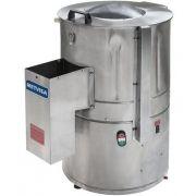 Descascador de Alho Inox 10kg Metvisa DBCA.10 MAX 127V