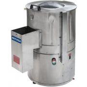 Descascador de Batata Inox 10kg Metvisa DBCA.10 MAX 127V