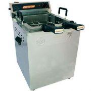 Fritadeira Elétrica Água e Óleo 1 Cuba 18L Inox Cotherm Turbo 220V