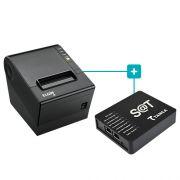 Kit SAT Fiscal TS-1000 Tanca + Impressora i9 Elgin
