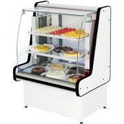 Vitrine Refrigerada Pop Luxo 1m Vidro Semi Curvo - Polofrio