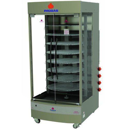 Assador Multiuso Elétrico Giratório Progás PRP-482 G4 Bivolt  - RW Automação