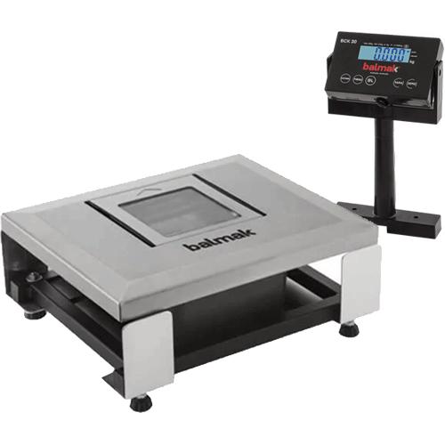 Balança Checkout Balmak BCK-30PAN 30Kg c/ Nicho para Leitor INMETRO  - RW Automação