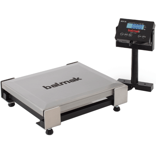 Balança Checkout Balmak BCK-30PB Standard 30Kg INMETRO  - RW Automação