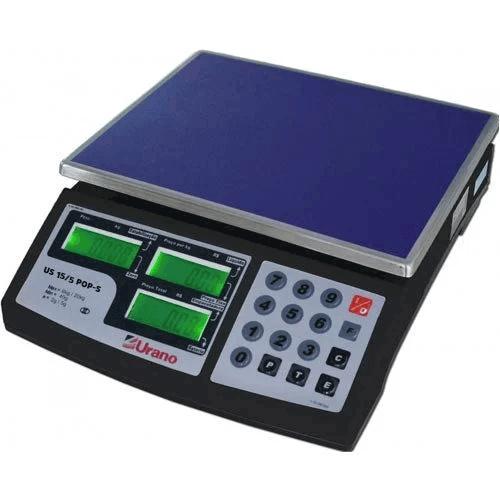 Balança Computadora Urano POP-S 15/5 15Kg c/ Bateria INMETRO  - RW Automação