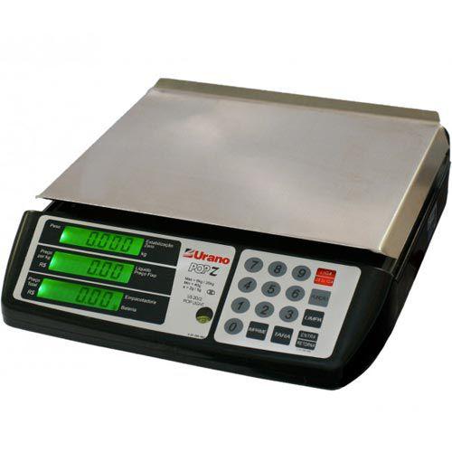 Balança Computadora Urano POP-Z 20/2 20Kg c/ Bateria INMETRO  - RW Automação