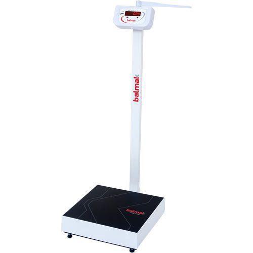 Balança para Pesar Pessoas Balmak BK-200FAN 200Kg c/ Antropômetro INMETRO  - RW Automação