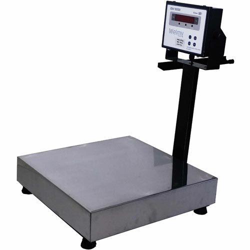 Balança Plataforma de Bancada Welmy WPL 100 100Kg INMETRO  - RW Automação