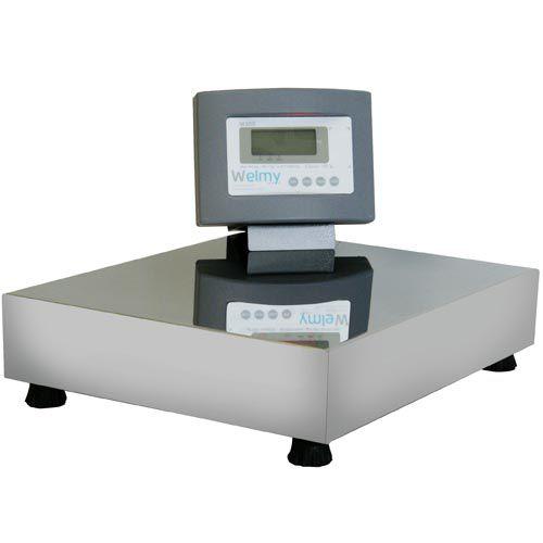 Balança Plataforma Welmy W100/2 100Kg Serial INMETRO  - RW Automação