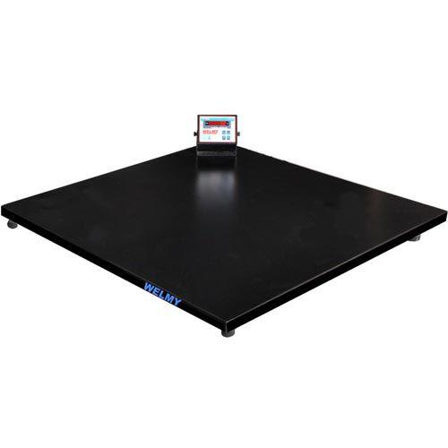 Balança Plataforma Welmy WPL 500 500Kg 1,2x1,2m Serial INMETRO  - RW Automação