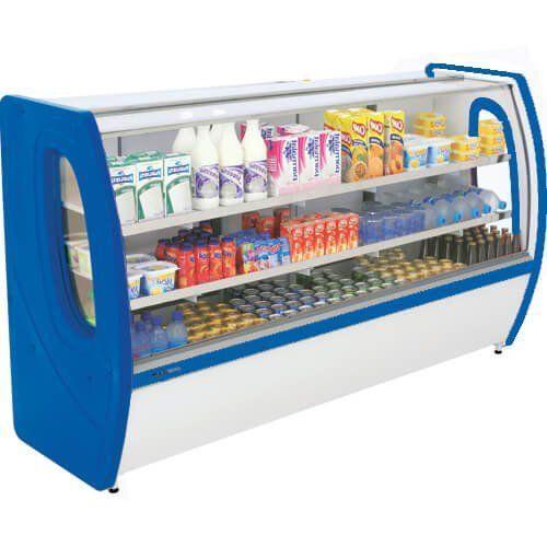 Balcão Refrigerado Premium 1,25m Vidro Semi Curvo - Polofrio  - RW Automação
