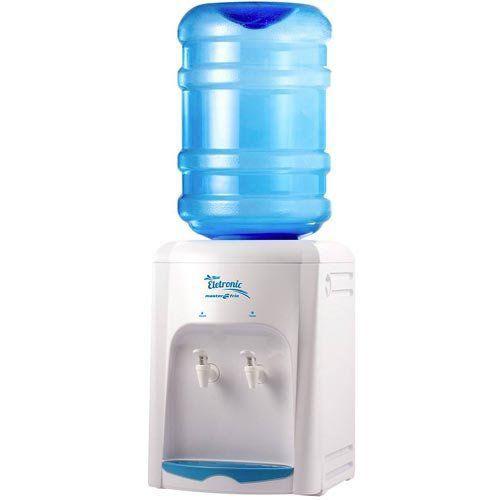 Bebedouro de Garrafão 0,8L Masterfrio New Eletronic Branco 127V  - RW Automação
