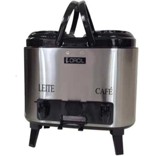 Botijão Térmico Inox Duplo 12L Orcil BTD12P  - RW Automação