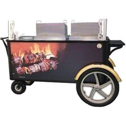 Carrinho Gourmet para Espetinho a Carvão WCM-ES - Warm  - RW Automação