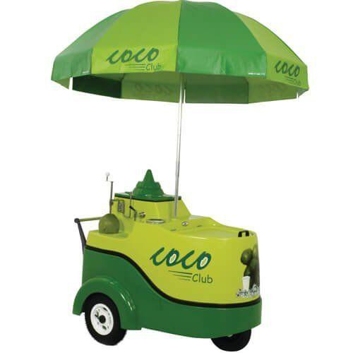 Carrinho para Água de Coco WCO - Warm  - RW Automação