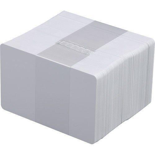 Cartão PVC Zebra Branco 0,76mm 5 Pacotes com 100 UN  - RW Automação