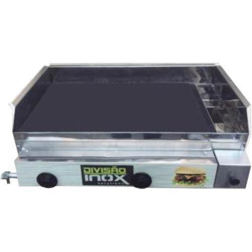 Chapa a Gás 2 Queimadores Ital Inox CBDI-680  - RW Automação