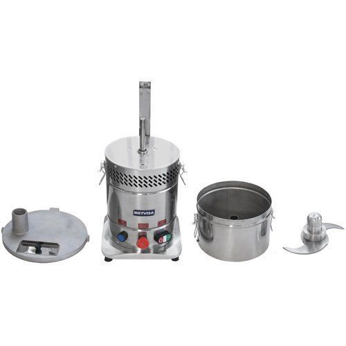 Cutter Inox 8L Metvisa CUT.8 Bivolt  - RW Automação