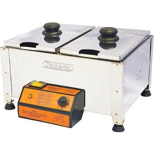 Derretedeira de Chocolate 2 Cubas 2x2,5 Kg Cotherm 127V  - RW Automação