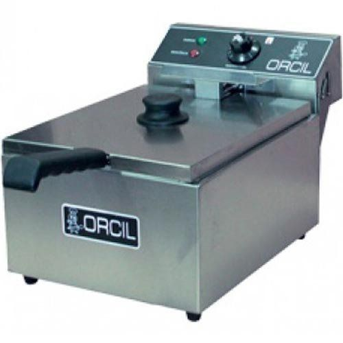 Fritadeira Elétrica 1 Cuba Inox 6L Orcil FE1 127V  - RW Automação