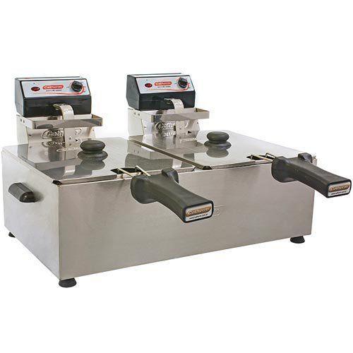 Fritadeira Elétrica 2 Cubas Inox 2x5L Cotherm 127V  - RW Automação