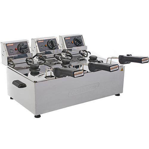 Fritadeira Elétrica 3 Cubas Inox 3L Cotherm Turbo 220V  - RW Automação