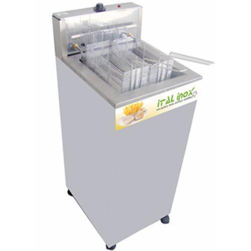 Fritadeira Elétrica Água e Óleo 1 Cuba Inox Ital Inox FAOI-18 220V  - RW Automação