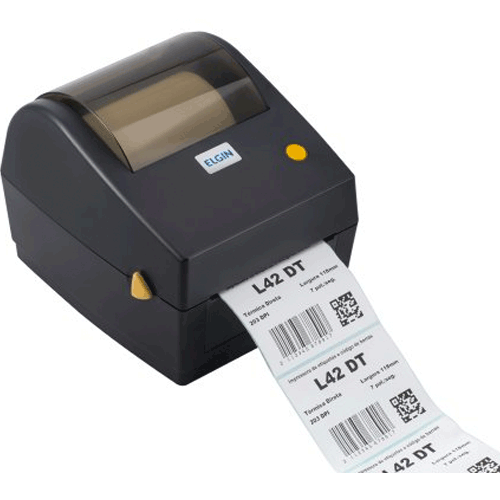 Impressora Térmica de Etiquetas Elgin L42 DT  - RW Automação