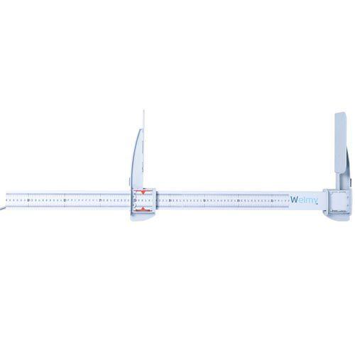 Infantômetro Portátil 1,46m Welmy Branco  - RW Automação