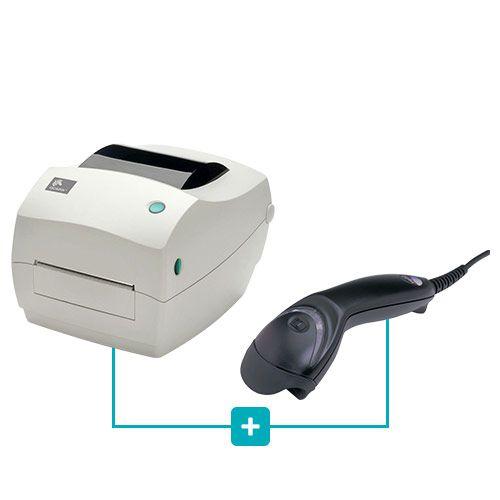 Kit Impressora GC420t Zebra + Leitor MS5145 Honeywell  - RW Automação