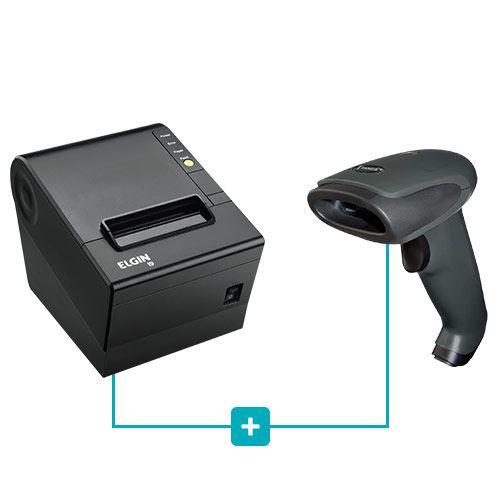 Kit Impressora i9 Elgin + Leitor TL-120 Tanca  - RW Automação