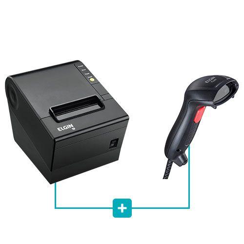 Kit Impressora i9 + Leitor Flash - Elgin  - RW Automação