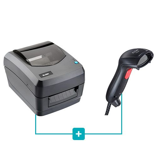 Kit Impressora L42 + Leitor Flash - Elgin  - RW Automação