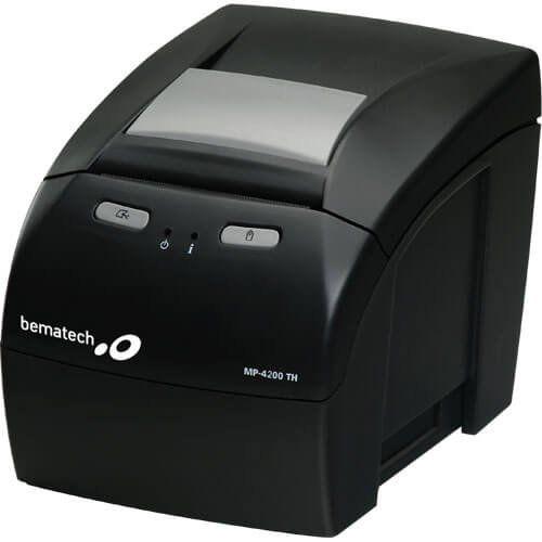 Kit Impressora MP-4200 TH Bematech + Leitor Flash Elgin  - RW Automação