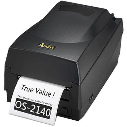 Kit Impressora OS-2140 Argox + Leitor QW2100 c/ Suporte Datalogic  - RW Automação