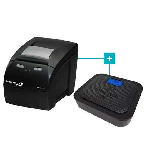 Kit SAT Fiscal s@tGo + Impressora MP-4200 TH - Bematech  - RW Automação