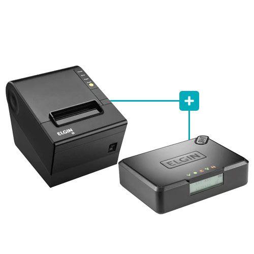 Kit SAT Fiscal Smart + Impressora i9 - Elgin  - RW Automação